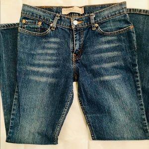 Levi's 518 women's boot cut jeans